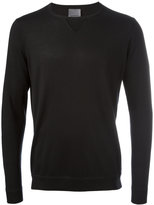Laneus crew neck jumper - men - Silk/Cashmere - 48