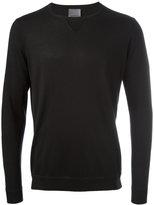 Laneus crew neck jumper - men - Silk/Cashmere - 52