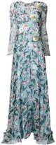 Antonio Marras embroidered floral maxi dress