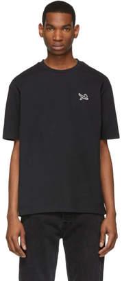 Calvin Klein Jeans Est. 1978 Black Icon Embroidery T-Shirt