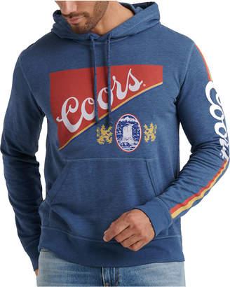 Lucky Brand Men Coors Regular-Fit Logo-Print Hoodie