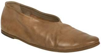 Marsèll Brown Leather Flats