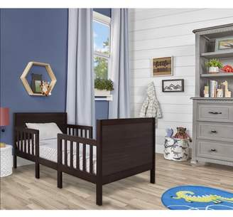 Dream On Me Hudson 3 in 1 Convertible Toddler Bed, Espresso