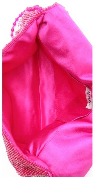 Moyna Ikat Fold Over Clutch