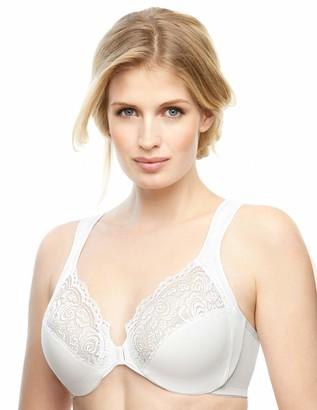 Glamorise Women's Full Figure Wonderwire Front Close Bra #1245