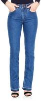 Sandro Women's Viky Slit Release Hem Straight Leg Jeans