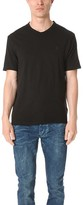 Calvin Klein Jeans Mixed Media V Neck Tee