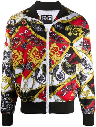 Versace Jeans Couture Paisley Fantasy track jacket