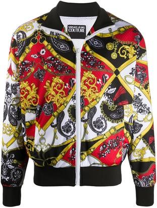 Versace Paisley Fantasy track jacket