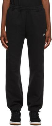 Stussy Black Logo Pants