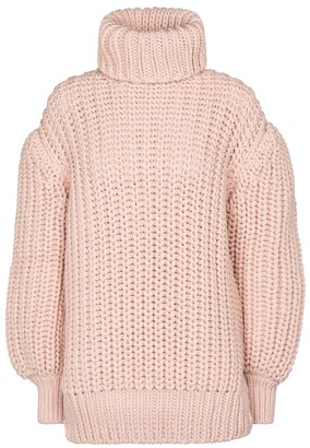 Fendi Wool turtleneck sweater
