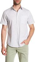 Original Paperbacks Milano Bubbles Regular Fit Short Sleeve Shirt