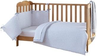 Clair De Lune Stars & Stripes Cot Bed Bedding Set