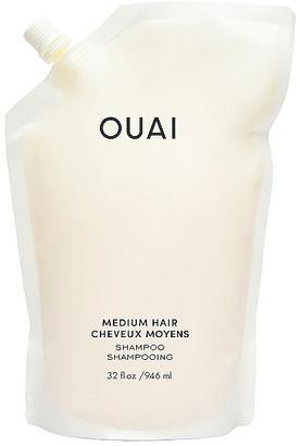 Ouai Medium Shampoo Refill Pouch
