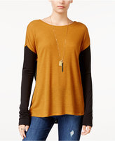 Sanctuary Ribbed Colorblocked Sweater, A Macy's Exclusive Style