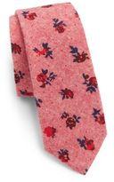 Original Penguin Rose Cotton Tie