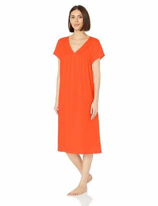 Hanro Women's Lotta Short Sleeve Gown