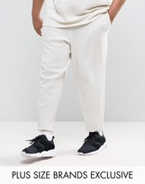 Puma Plus Waffle Joggers In Grey Exclusive To Asos