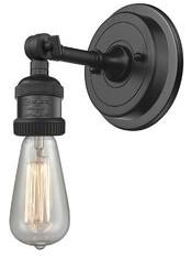Williston Forge Burlingame Bulb 1-Light Adjustable Armed Sconce