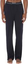 HUGO BOSS Branded stretch-cotton pyjama trousers