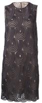 Christopher Kane macrame motif shift dress