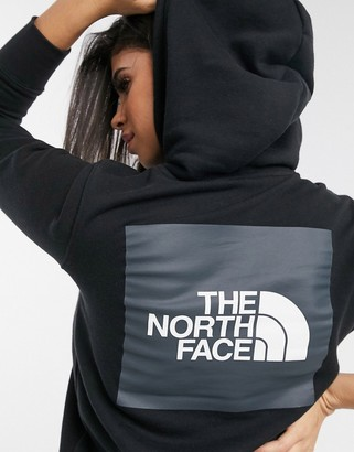 The North Face Box hoodie in black