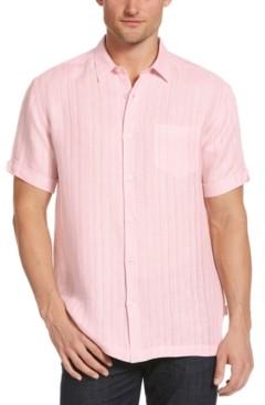 Cubavera Men's Basic Linen Shirt