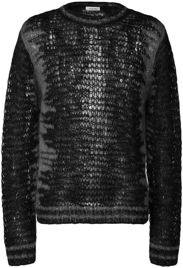 Valentino furry sweater