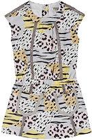 Kenzo Animal-Print Cotton Twill Shirtdress