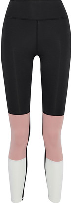 Iris & Ink Color-block Stretch Leggings