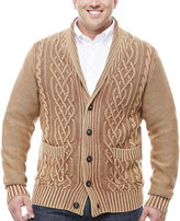 THE FOUNDRY SUPPLY CO. The Foundry Big & Tall Supply Co. V Neck Long Sleeve Cardigan