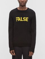Public School Gaga Crewneck Pullover Sweater