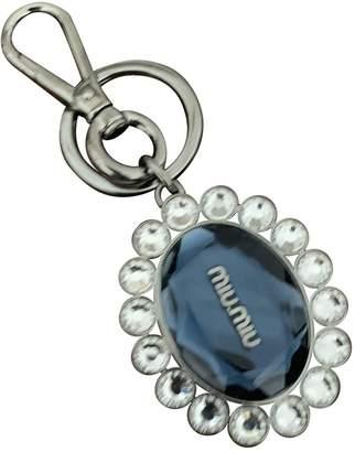 Miu Miu Blue Metal Bag charms