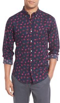 Bonobos Men's 'Fallen Carnatio' Slim Fit Floral Print Sport Shirt
