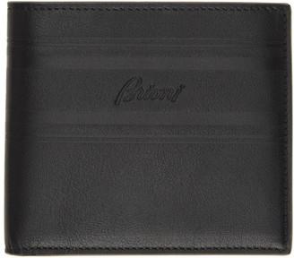 Brioni Black Classic Bifold Wallet