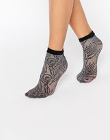Jonathan Aston Lace Anklet Sock