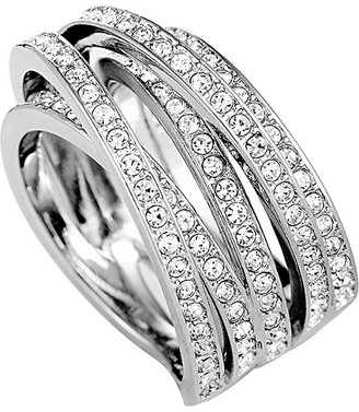 Swarovski Crystal Stainless Steel Ring