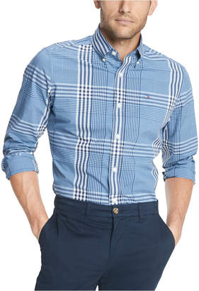 Tommy Hilfiger Men Oscar Plaid Stretch Shirt