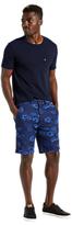 Levi's Straight Calliope Print Chino Shorts, Rich Blue