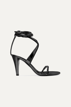 Isabel Marant Aldey Metallic Leather Sandals