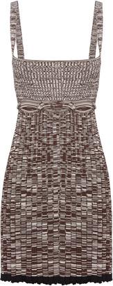 CHRISTOPHER ESBER Deconstructed Knit Tank Dress