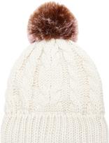 Accessorize ThinsulateTM Contrast Pom Pom Beanie Hat