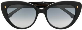 Cutler & Gross Gradient Cat-Eye Frame Sunglasses