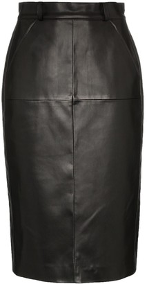we11done High-Waisted Pencil Skirt