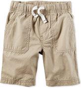 Carter's Khaki Shorts, Toddler Boys (2T-4T)