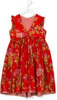 Pero Kids - floral print dress - kids - Silk/Cotton - 6 yrs