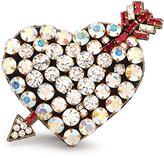 Gucci Crystal-embellished heart bracelet
