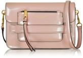 Marc Jacobs Madison Rose Smoke Patent Leather Medium Shoulder Bag