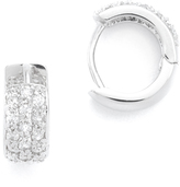 Kenneth Jay Lane Mini Pave Hoop Earrings