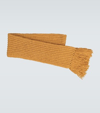Dries Van Noten Chunky knitted scarf